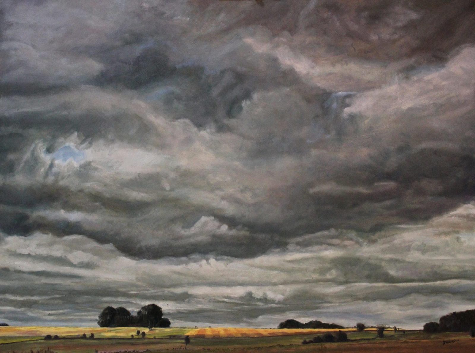 Before The Storm, Salisbury Plain SOLD