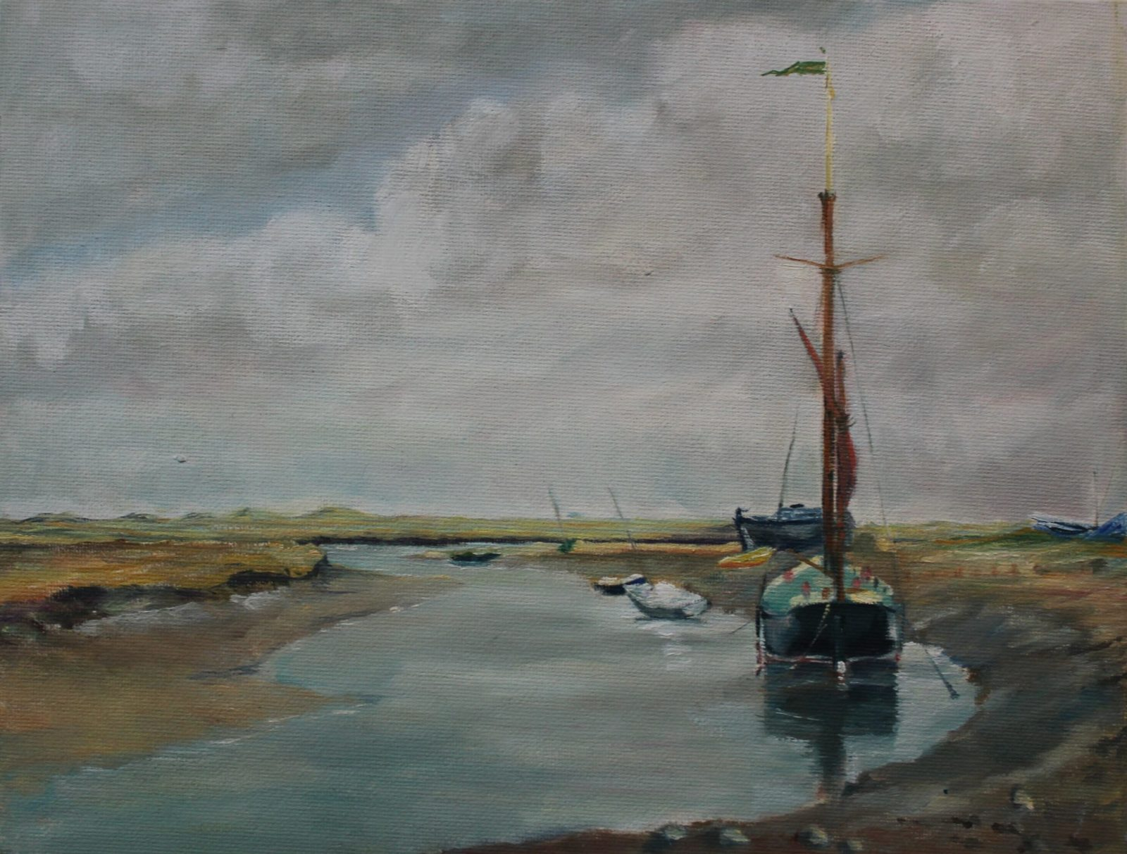 Blakeney Quay Tide Up SOLD
