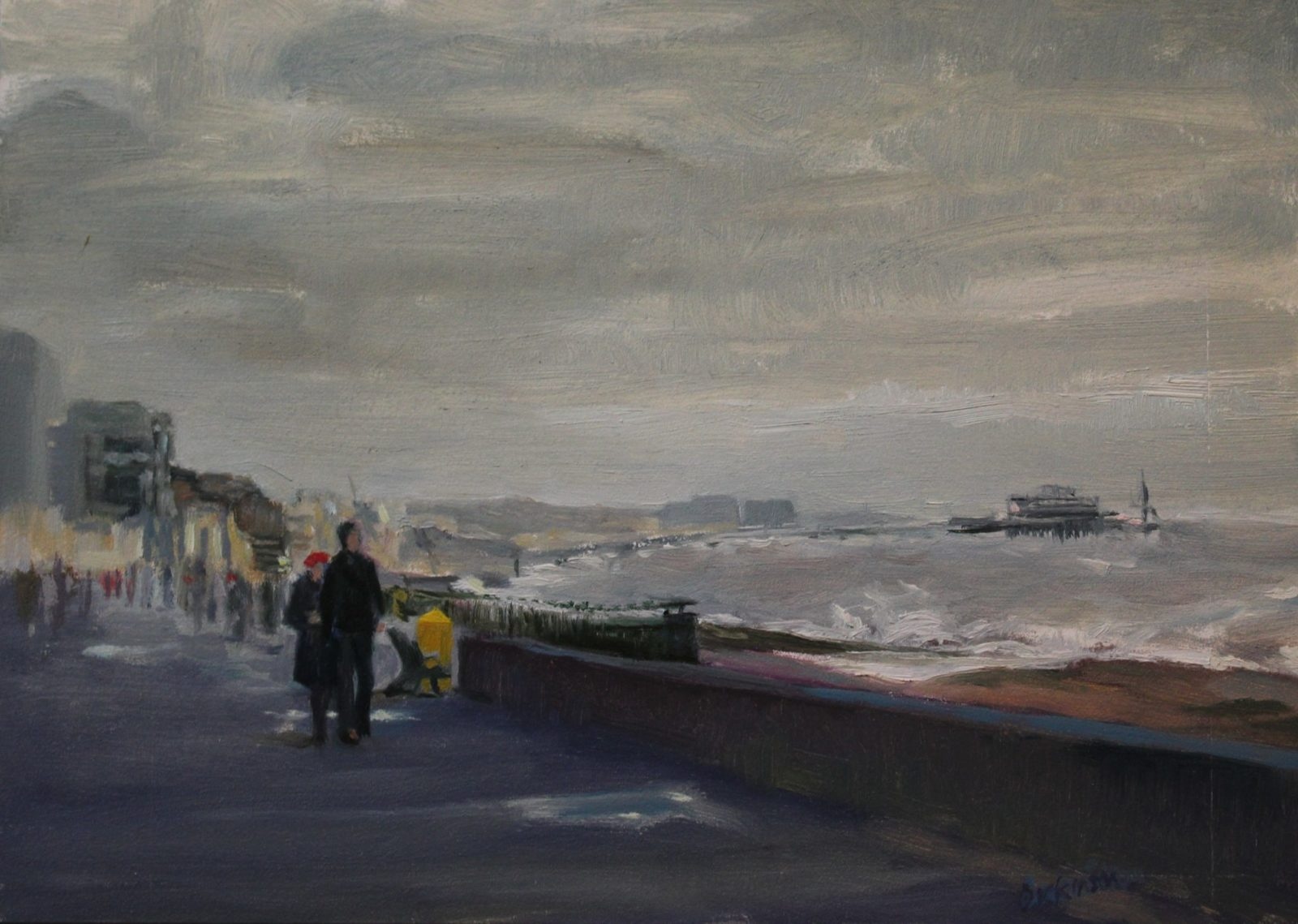 Brighton, breezy day SOLD