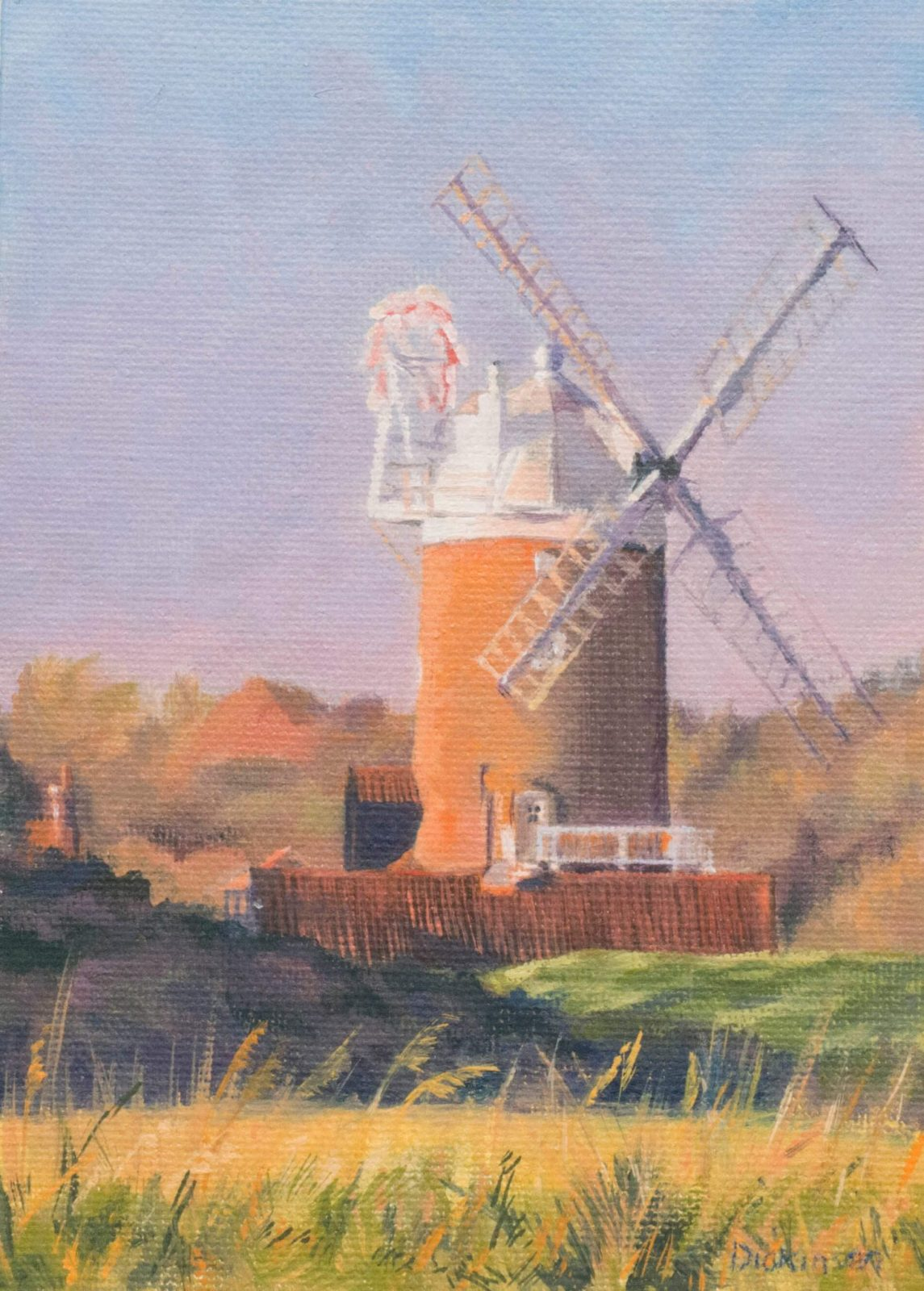 Cley Windmill, late afternoon