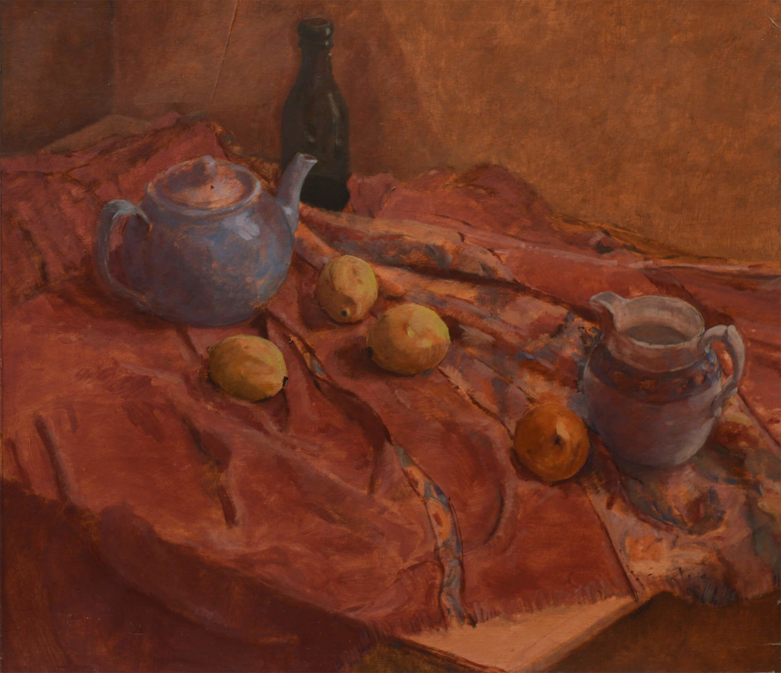 Still Life with Blue Teapot SOLD