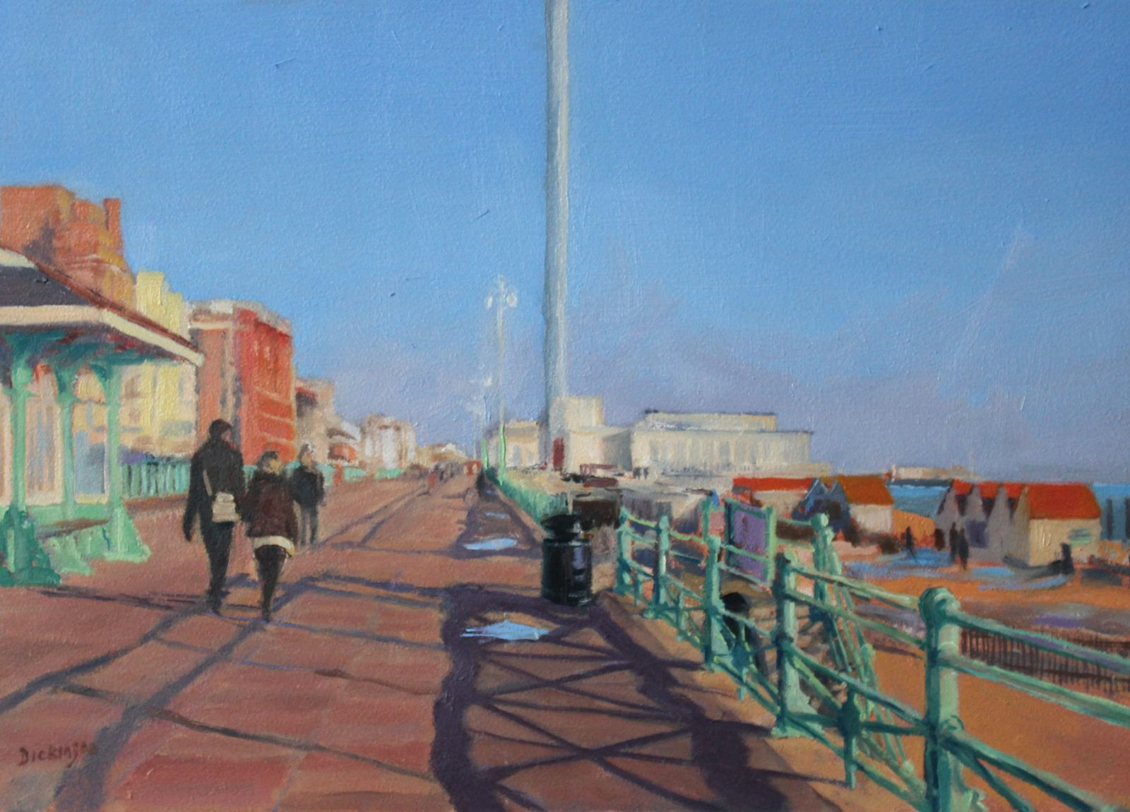 Brighton, Spring Afternoon SOLD
