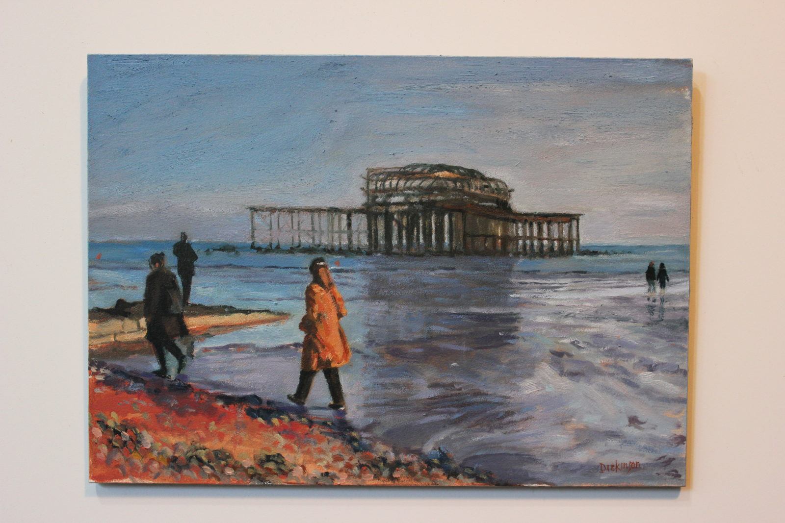 West Pier- Low Tide SOLD